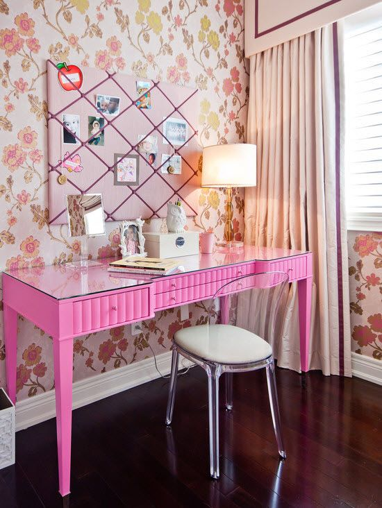 Красивая комната для девочки фото