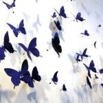Бабочки наклейки для стен фото