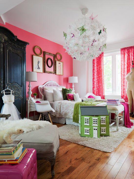 Красивая спальня для девочки