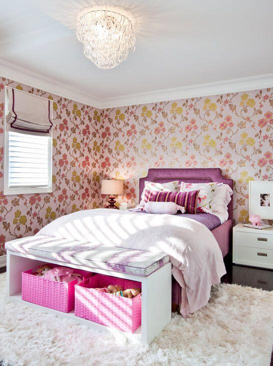 Как сделать комнату для девочки