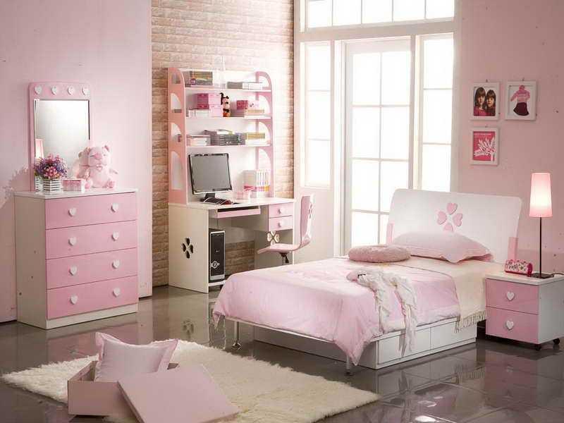 Дизайн спальни для дочки фото