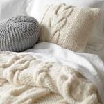 Вязаные подушки фото