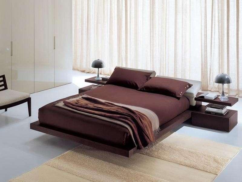 Красивая кровать хай-тек