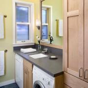 Маленькая ванная комната идеи для стиральной машинки