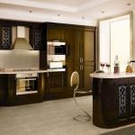 Кухонная мебель арт-деко
