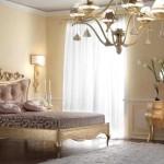 Освещение в спальне Арт-Деко фото