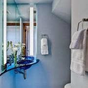 Ванная в хрущевке зеркало