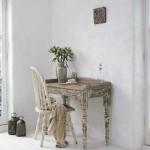 Стол и стул для интерьере в стиле винтаж