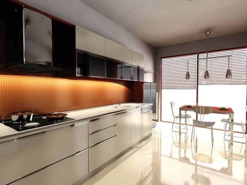 Кухонная мебель - хайтек