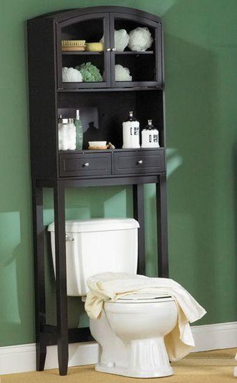 Вариант меблировки ванной комнаты