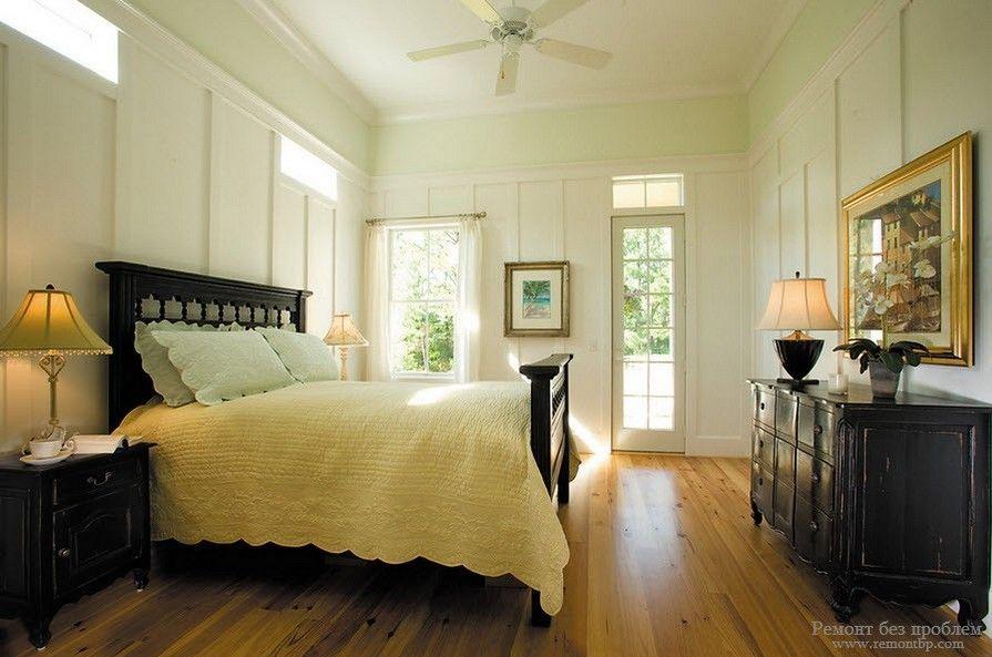 Варианты обустройства спальни