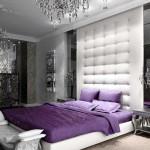 Синяя спальня Арт-Деко