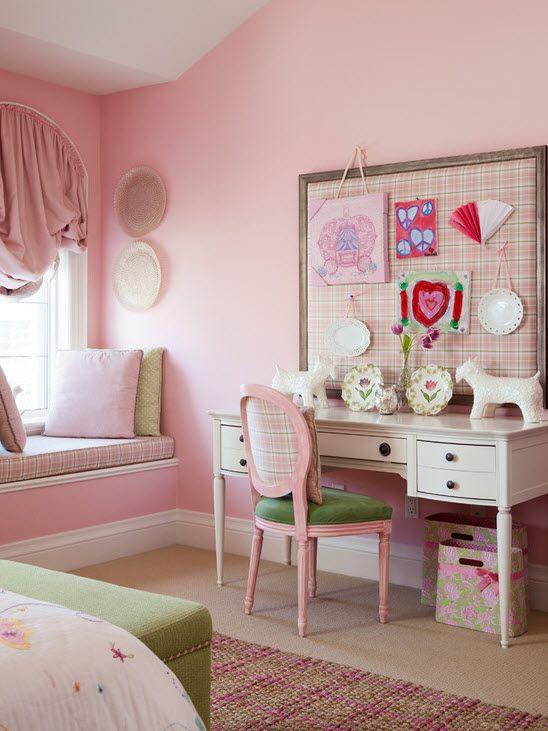 Необычный вариант оформления комнаты для девочки подростка