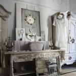 Белая мебель винтаж