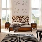 Красивая кровать Арт-Деко