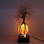 Дерево светильник