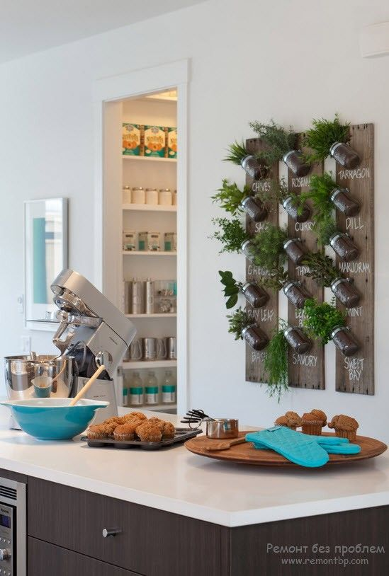 Изюминка интерьера на кухне