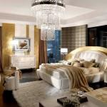 Красивая кровать Арт-Деко фото