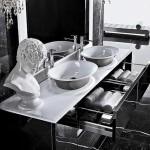 Необычная ванная Арт-Деко