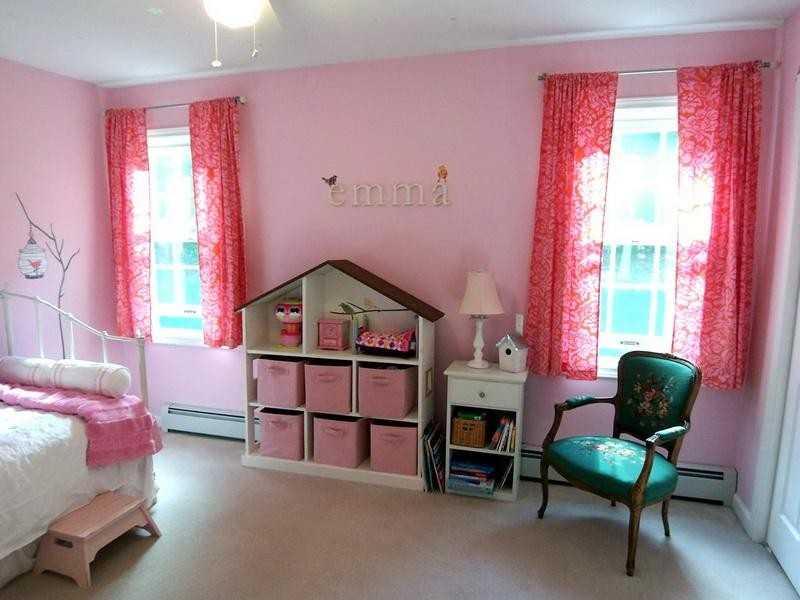 Примеры оформления комнаты для дочки фото