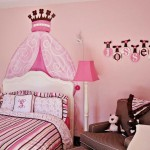 Розовая комната для маленькой девочки фото