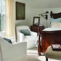 Необычный дизайн спальной комнаты