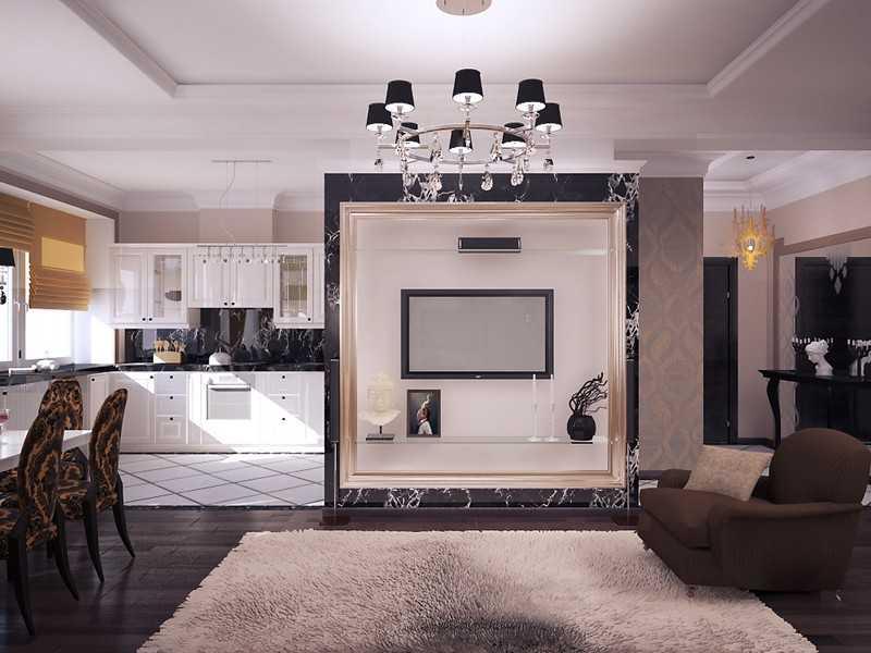 Дизайн интерьера помещения арт-деко