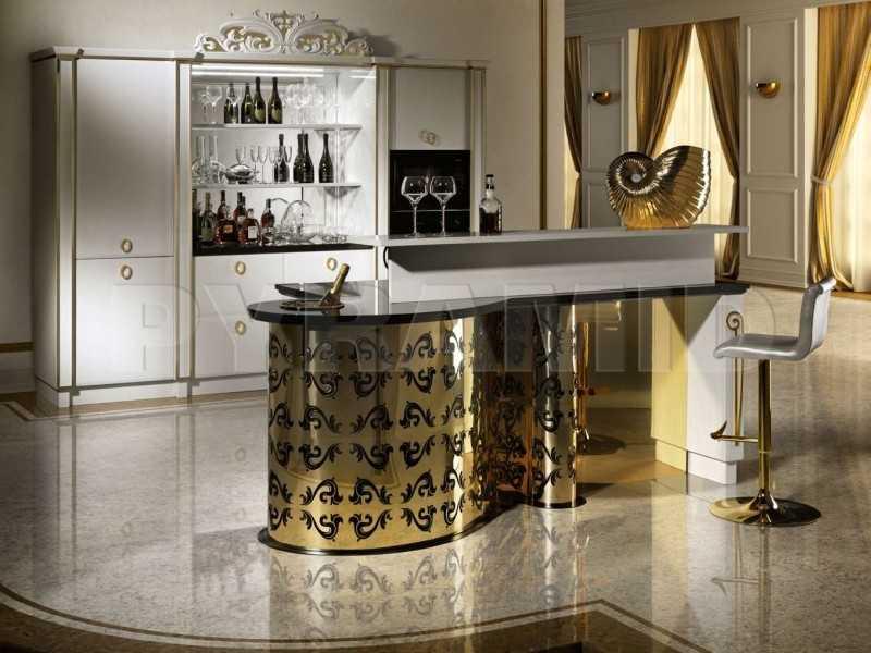 Золотая мебель арт-деко