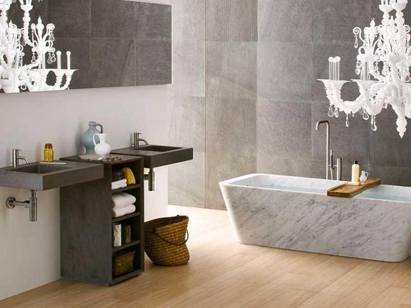Ванная комната арт-деко фото и описание
