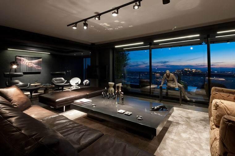 Освещение гостиной, Различные идеи и варианты дизайна освещения