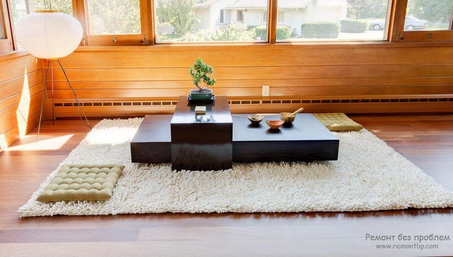 Японская атрибутика в квартире
