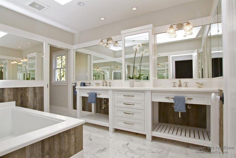 Удивительно красивая мебель для ванной комнаты