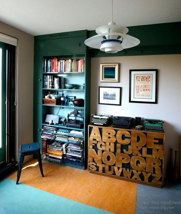 Шрифтовая мебель фото