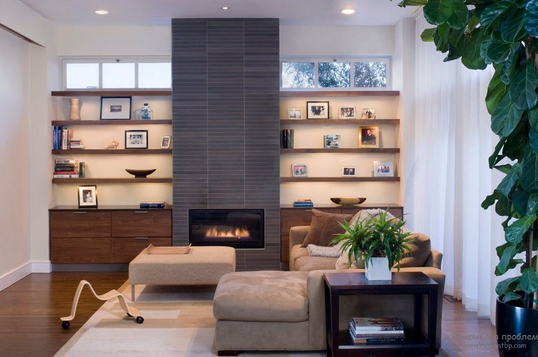 Современная мебель в интерьере гостиной, Дизайн мебели по стилям