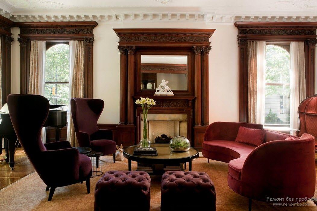Мебель в стиле максимализм на фото