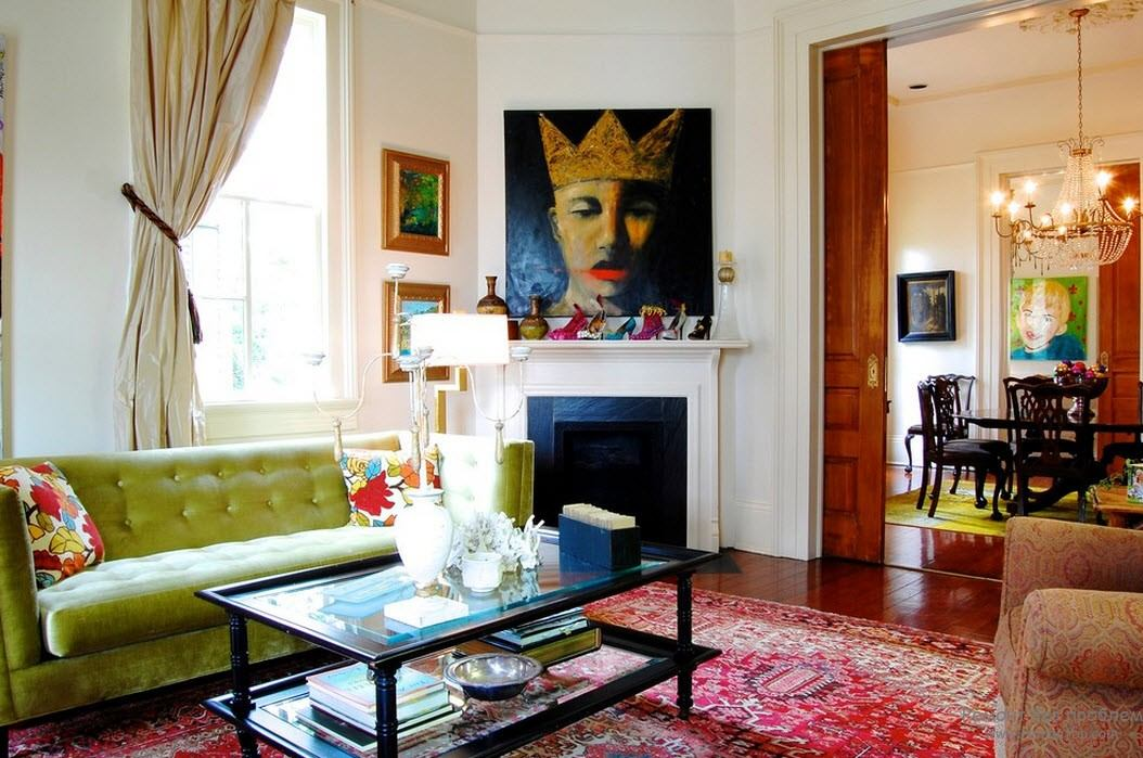 Современный стиль интерьера загородного дома