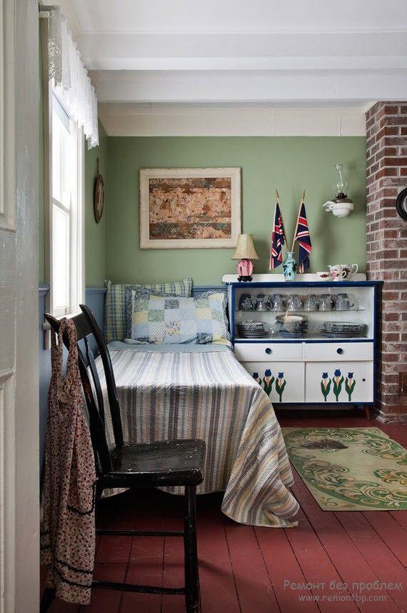Спальное место для кухни на даче