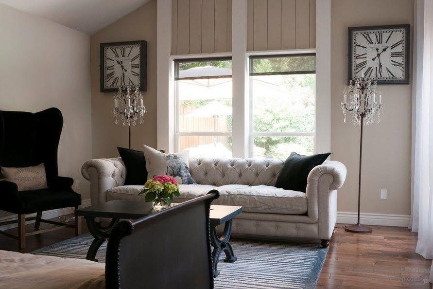 Мягкая мебель в классическом интерьере