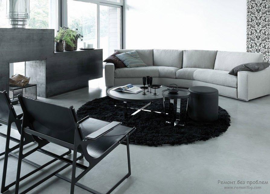 Необычный дизайн мягкой мебели и интерьера