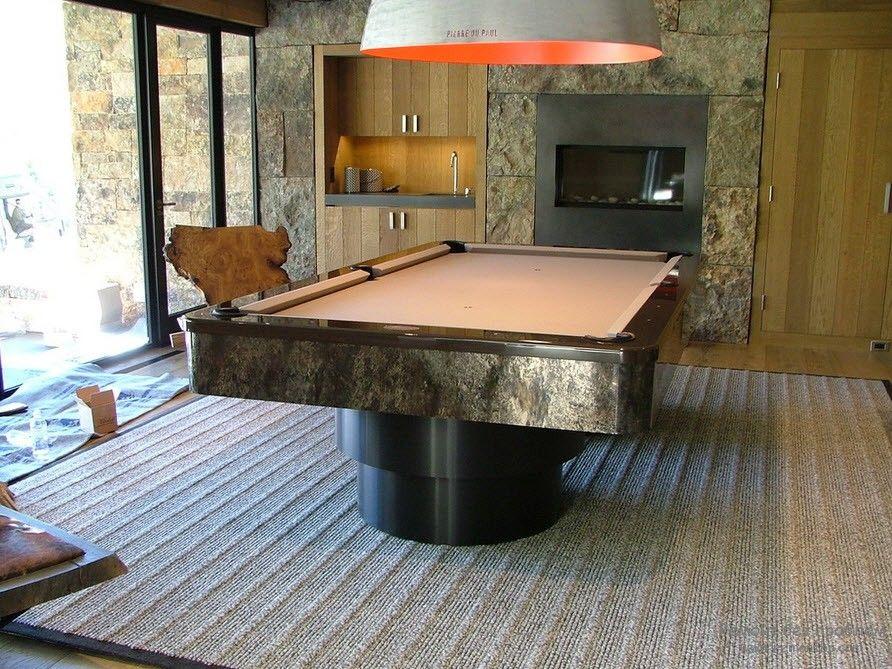 Оригинальный бильярдный стол