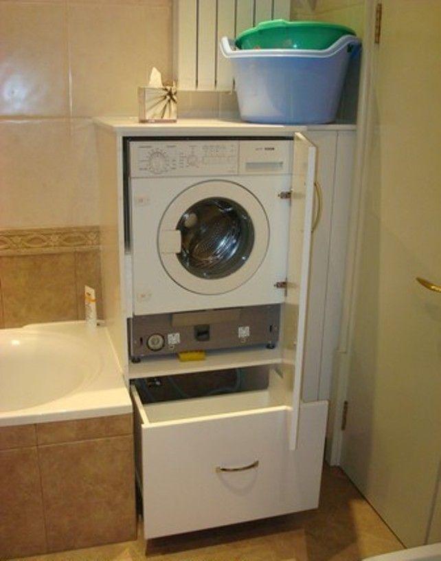 Стиральная машинка для ванной комнаты