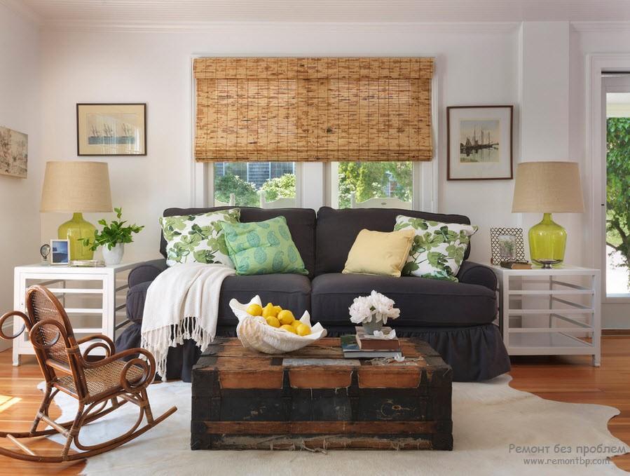 домашний уют с декоративными элементами из бамбука