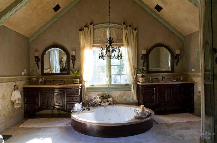 Интерьер ванной на фото
