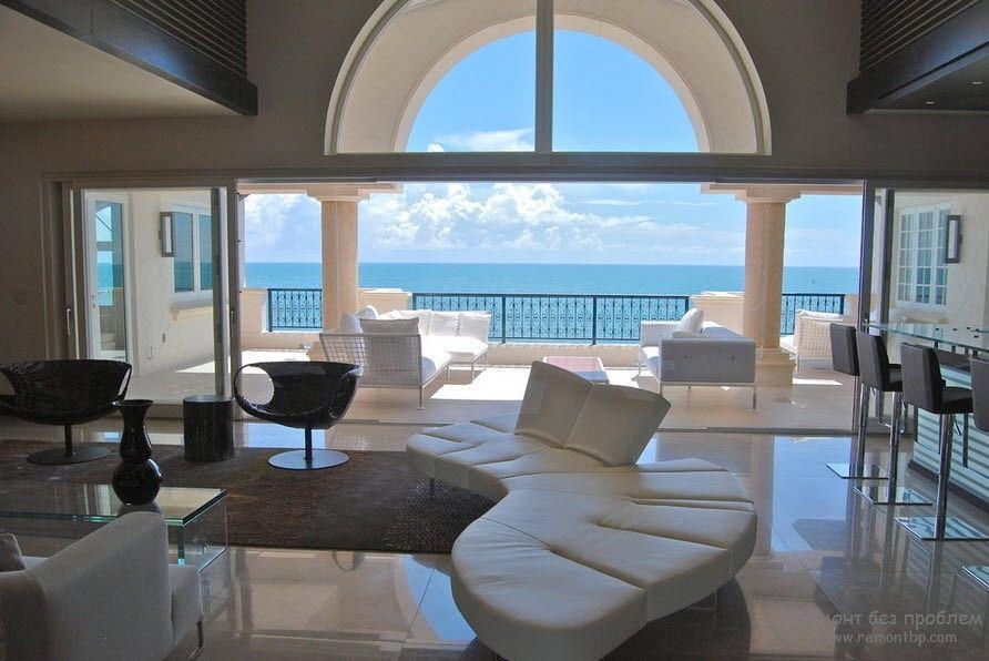 Необыкновенно роскошный интереьер и роскошная мягкая мебель