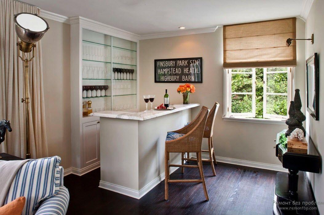 Фото дизайн барных стоек в интерьере кухни