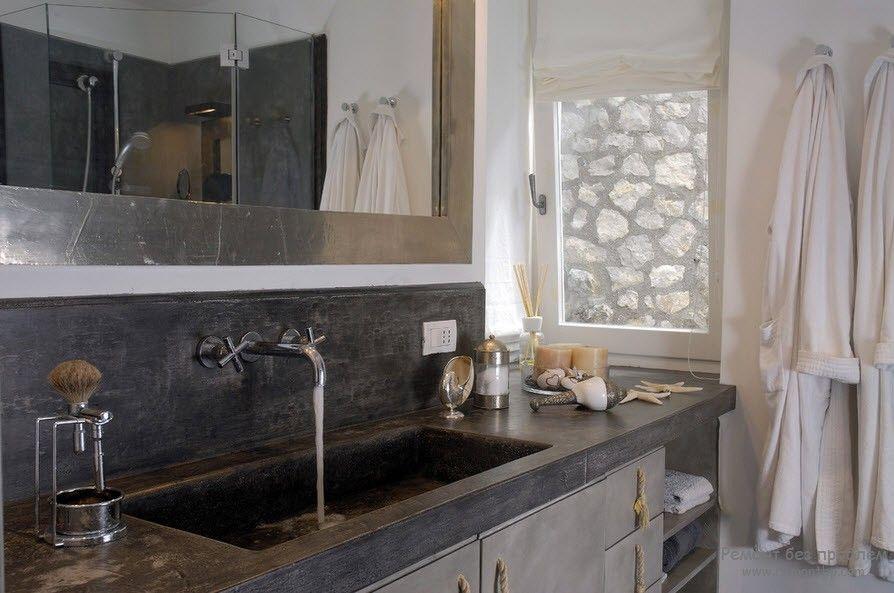 Средиземноморский стиль ванной