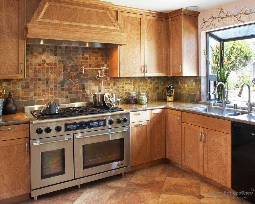 Кухня в средиземноморском стиле на фото