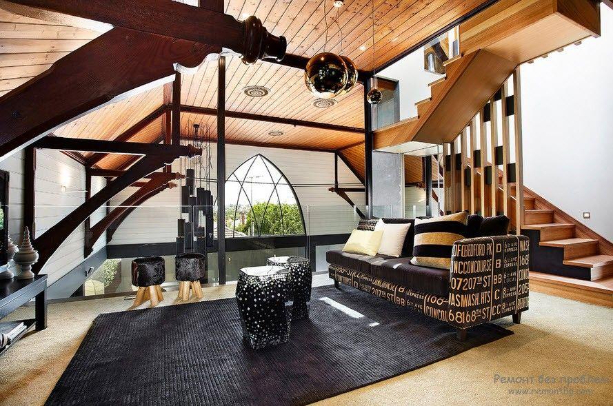 Мягкая мебель в эксклюзивном интерьере