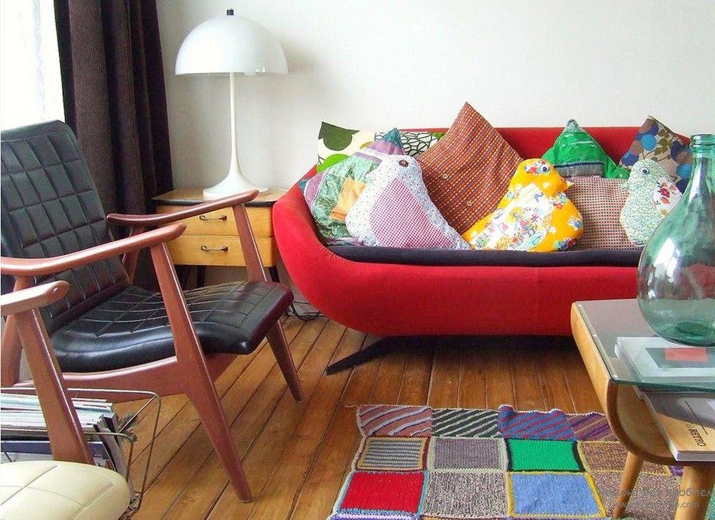 Лоскутное шитье в интерьере, Оформление интерьера в стиле пэчворк
