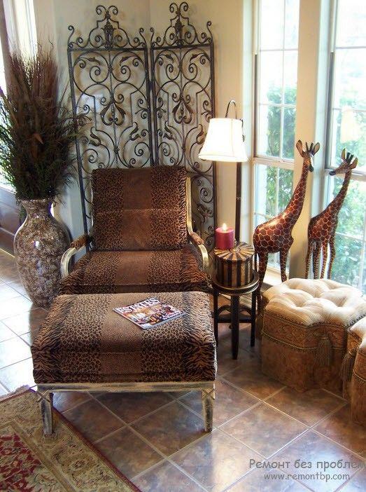 /фксклюзивная мебель для африканского интерьера